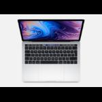 Apple MacBook Pro Silber Notebook 33,8 cm (13.3 Zoll) 2560 x 1600 Pixel Intel® Core™ i5 der achten Generation 8 GB LPDDR3-SDRAM 256 GB SSD
