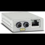 Allied Telesis AT-MMC200/ST-60 network media converter 100 Mbit/s 1310 nm Multi-mode Silver