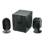 Gear Head Powered 2.1 Studio Speaker System