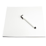StarTech.com STMAGMAT magnetic board Black,White