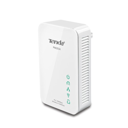 Tenda PW201A+P200 PowerLine network adapter Ethernet LAN Wi-Fi White 1 pc(s)