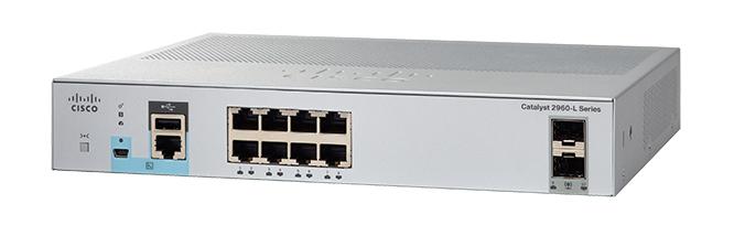 Cisco WS-C2960L-8TS-LL switch Gestionado L2 Gigabit Ethernet (10/100/1000) Gris 1U