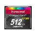 Transcend TS512MCF300 memory card 0.5 GB CompactFlash SLC