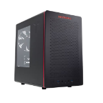Riotoro CR280 computer case Mini-Tower Black,Red