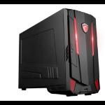 MSI Nightblade MI3 7RB-033UK 3GHz i5-7400 Desktop 7th gen Intel® Core™ i5 Black PC