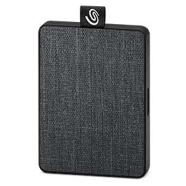 Seagate One Touch STJE1000400 external solid state drive 1000 GB Grey