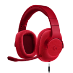 Logitech G433 Headset Head-band Red