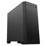 CIT Serenity Micro Gaming (MATX) Black Chassis Ultra Silent