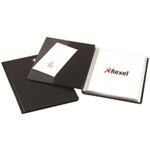 Rexel Nyrex™ Slimview A4 Display Book 24 Pockets Black