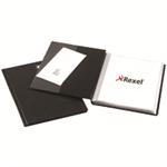 "Rexel Nyrexâ""¢ Slimview A4 Display Book 24 Pockets Black"