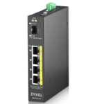 ZyXEL RGS100-5P Unmanaged L2 Gigabit Ethernet (10/100/1000) Black Power over Ethernet (PoE)