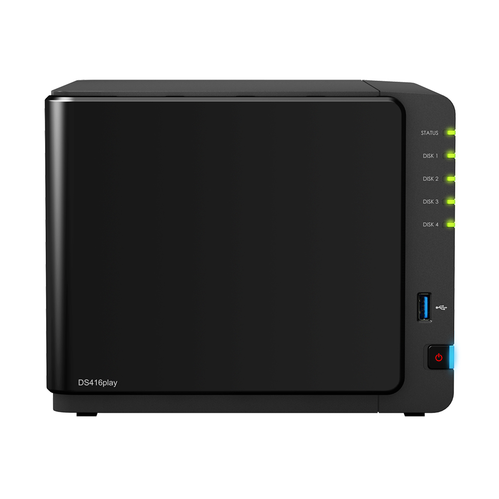 Synology DS416play NAS Desktop Ethernet LAN Black