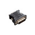 V7 Black Video Adapter DVI-I Male to VGA Female