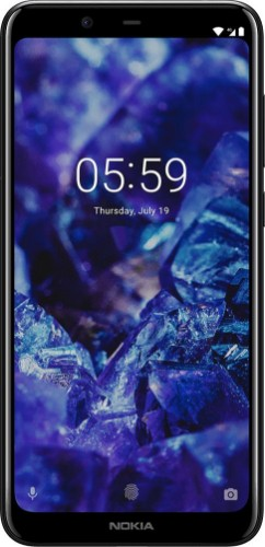 "Nokia 5.1 Plus 14.7 cm (5.8"") 3 GB 32 GB Black 3060 mAh"