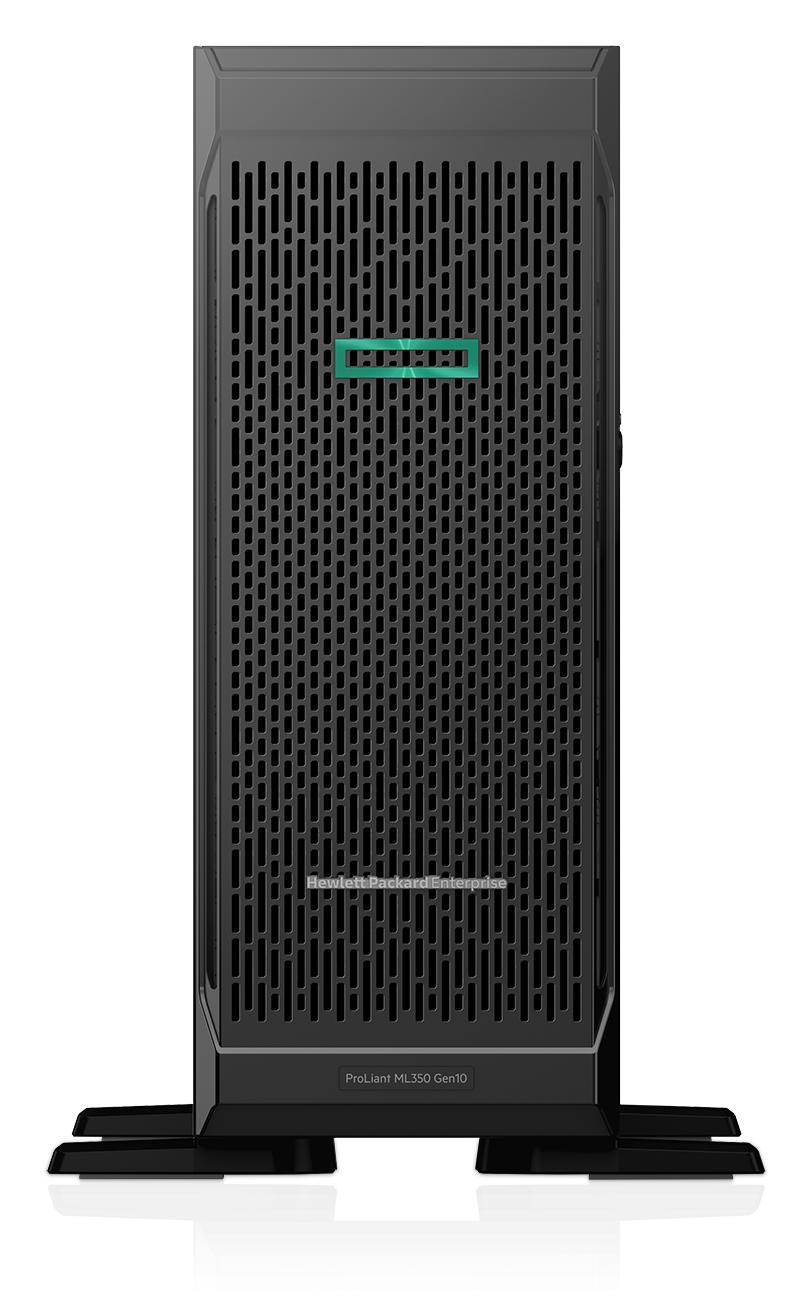 Hewlett Packard Enterprise ProLiant ML350 Gen10 + Microsoft Windows Server 2019 Standard ROK servidor Intel® Xeon® Silver 2,2 GHz 16 GB DDR4-SDRAM 48 TB Torre (4U) 800 W