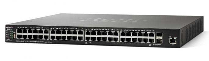Cisco SG350XG-48T Gestionado L3 10G Ethernet (100/1000/10000) Negro 1U