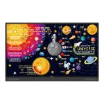 """Benq RP7502 Interactive flat panel 190.5 cm (75"""") IPS 4K Ultra HD Black Touchscreen"""