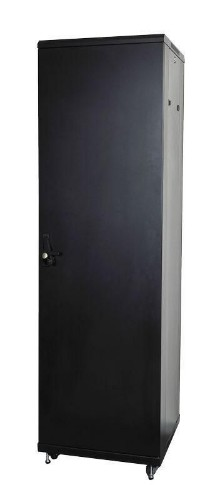 Lanview LVR243010 rack cabinet 42U Freestanding rack Black