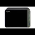 QNAP TS-653D NAS Tower Ethernet LAN Black J4125 TS-653D-8G/60TB-RED