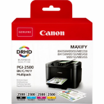 Canon 9290B004 (PGI-2500 BKCMY) Ink cartridge multi pack, 29,1ml + 3 x 9,6ml, Pack qty 4