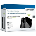 Devolo GIGABIT WLAN Bridge 1733Mbit/s Black,Grey