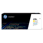 HP 658X toner cartridge 1 pc(s) Original Yellow
