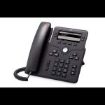 Cisco 6851 IP telefoon Zwart 4 regels