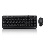 Adesso AKB-132CB keyboard USB QWERTY US English Black