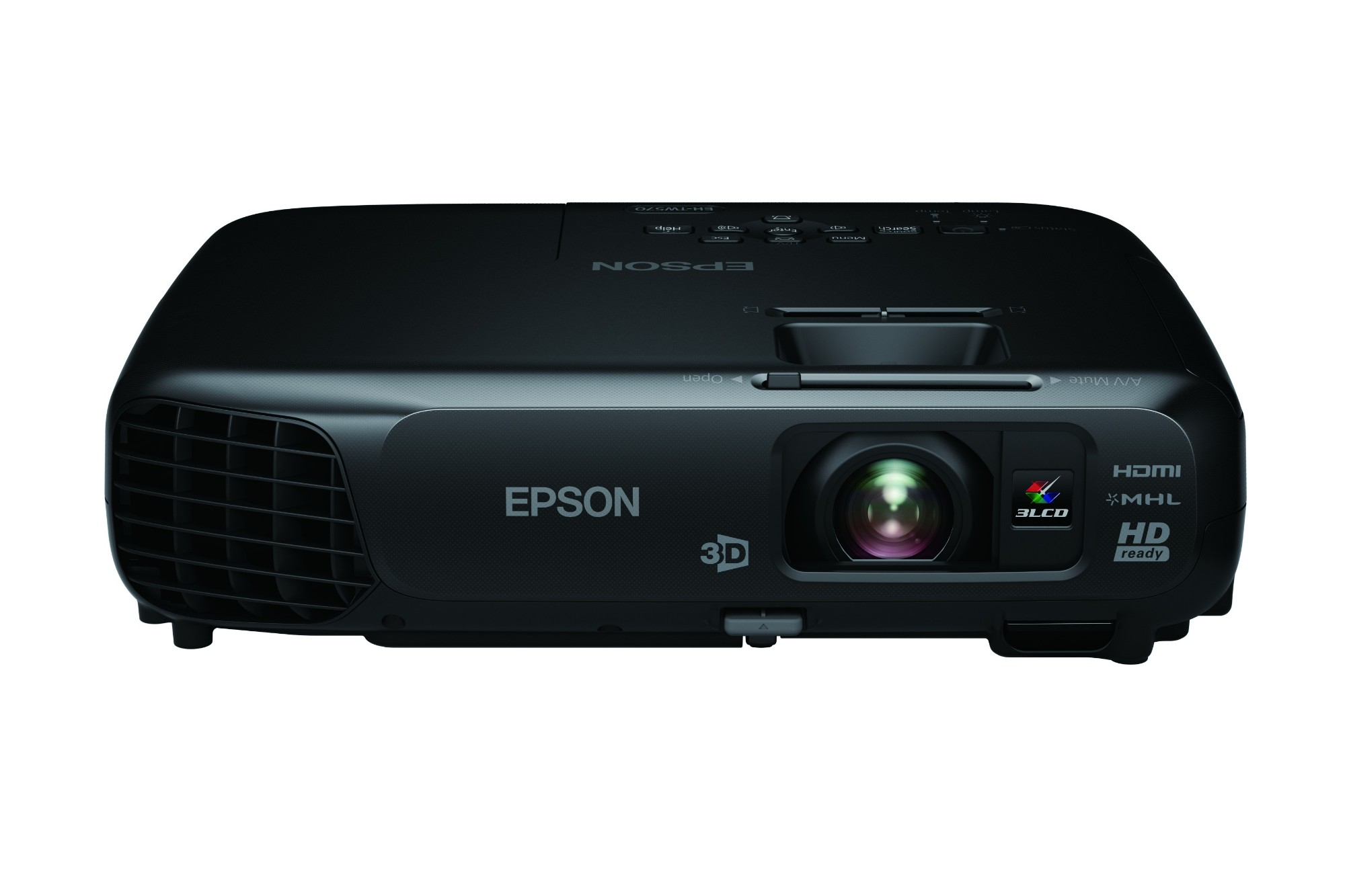 Epson EH-TW570 Desktop projector 3000ANSI lumens 3LCD WXGA (1280x800) 3D Black data projector