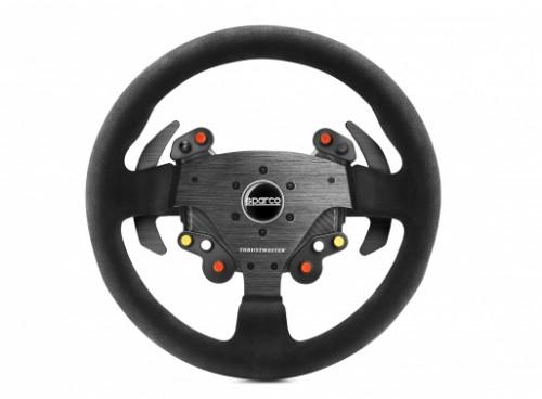 Thrustmaster Rally Wheel Add-On Sparco R383 Mod Steering wheel PC Digital USB Black