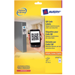 Avery L7121-25 Square Permanent White 500pc(s) self-adhesive label