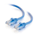 C2G Cable de conexión de red Cat6 UTP LSZH 1 m - Azul