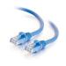 C2G Cable de conexión de red Cat6 UTP LSZH 1 m - Azul