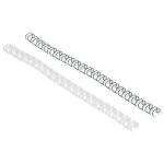 GBC MultiBind Binding Wires 8mm Black (100)