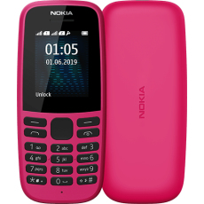 """Nokia 105 4.5 cm (1.77"""") 73.02 g Pink Feature phone"""