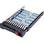"""HP 378343-002 drive bay panel 2.5"""" HDD Cage Black,Blue"""