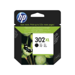 HP 302XL High Yield Black Original Ink Cartridge Origineel Zwart 1 stuk(s)