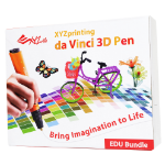 XYZprinting 3N10EXUK00G 0.8mm Black, Orange 3D pen