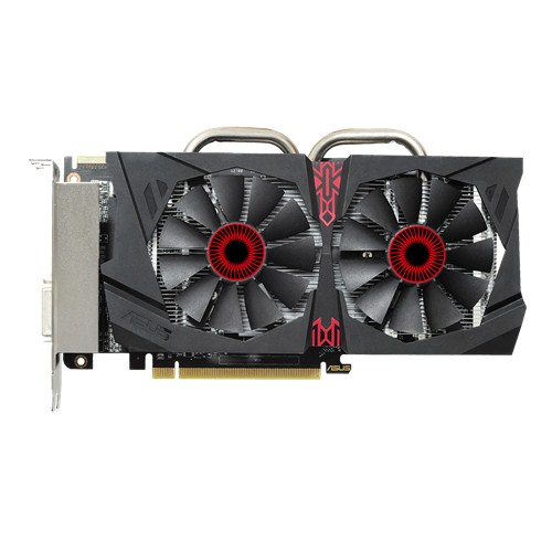 ASUS STRIX-R7370-DC2OC-2GD5-GAMING AMD Radeon R7 370 2GB