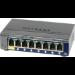 Netgear GS108T-200 Gestionado L2 Gigabit Ethernet (10/100/1000) Gris