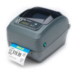 Zebra GX420t label printer Direct thermal / thermal transfer 203 x 203 DPI Wired