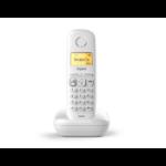 Gigaset A270 Teléfono DECT Blanco Identificador de llamadas