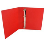 White Box WB PRES BINDER 4 D RING RED 40MM