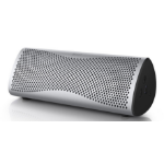 KEF MUO Stereo portable speaker 15W Silver