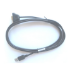 Zebra CBL-58926-04 cable de serie Negro 1,8 m USB tipo A DB-9