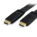 StarTech.com 10 ft Flat High Speed HDMI Cable with Ethernet - Ultra HD 4k x 2k HDMI Cable - HDMI to HDMI M/M