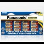 Panasonic CR123PA/12B household battery Single-use battery CR123A Lithium 3 V