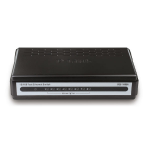 D-Link DES-1008A Unmanaged L3 Black network switch