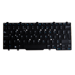 Origin Storage N/B KBD Lat E7450 UK 83 Keys Single Point Non-Backlit