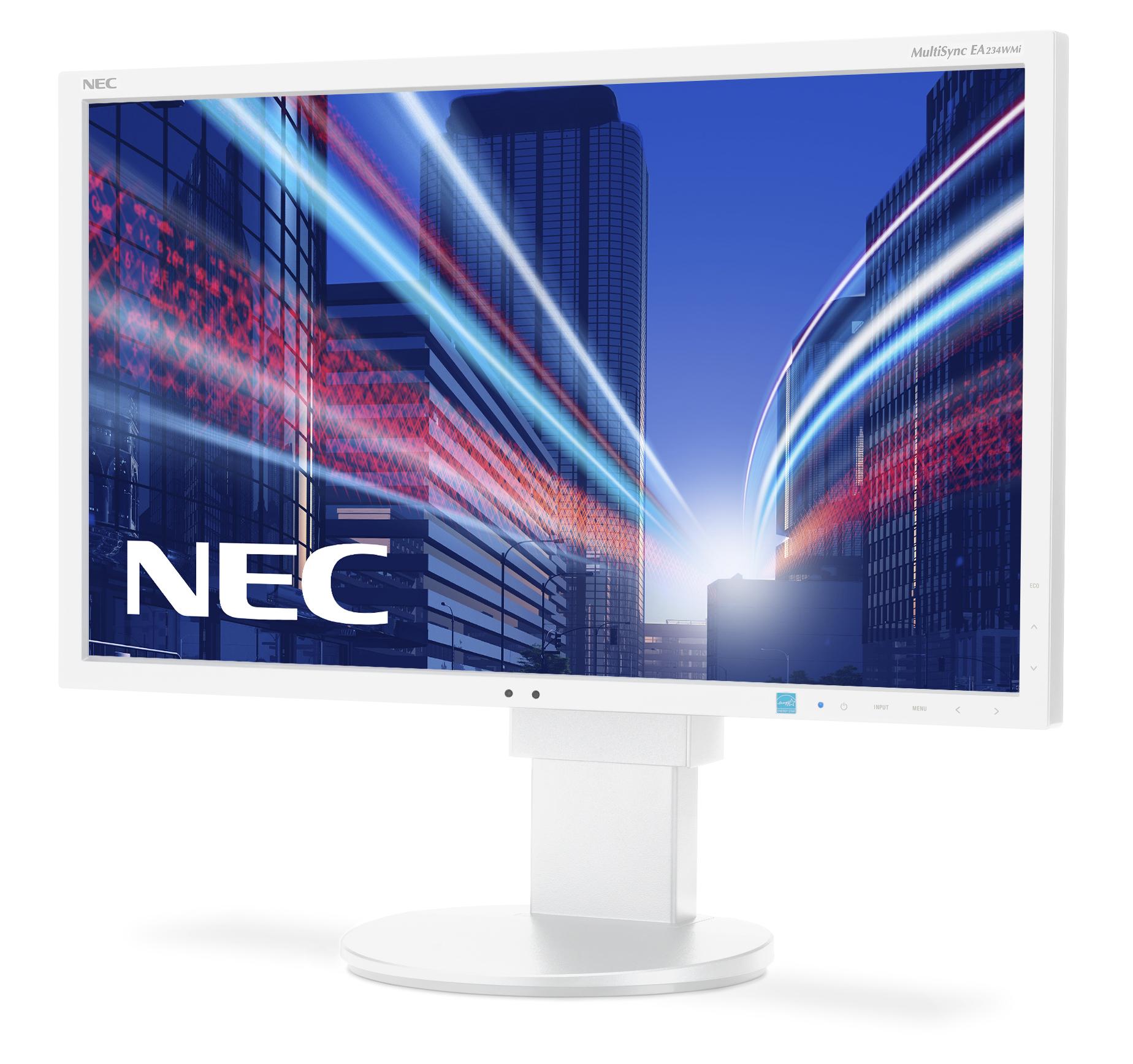 "NEC MultiSync EA234WMi LED display 58,4 cm (23"") 1920 x 1080 Pixeles Full HD LCD Plana Blanco"